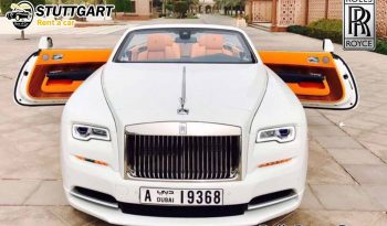 Rolls Royce dawn for rent in Dubai ممتلئ