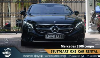 Mercedes S500 coupe 1