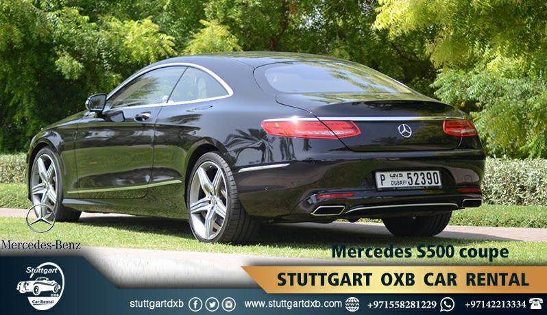 MERCEDES S500COUPE ممتلئ